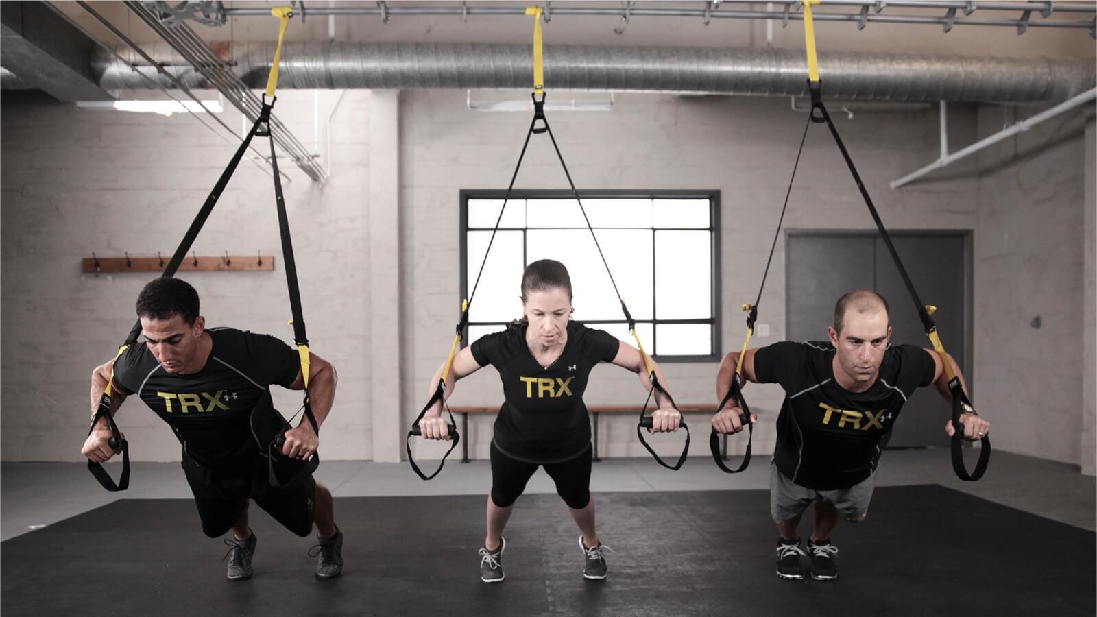 TRX: Functional training in sospensione